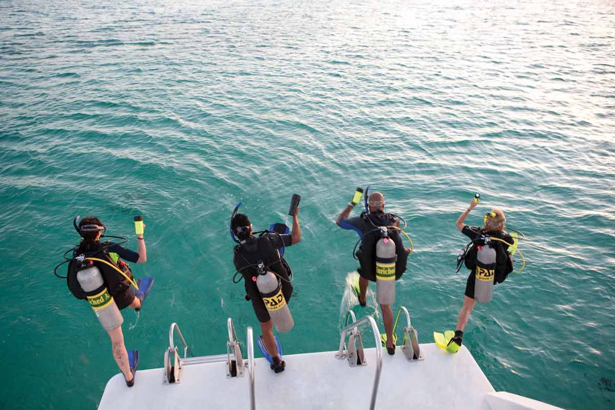 padi open water course ibiza
